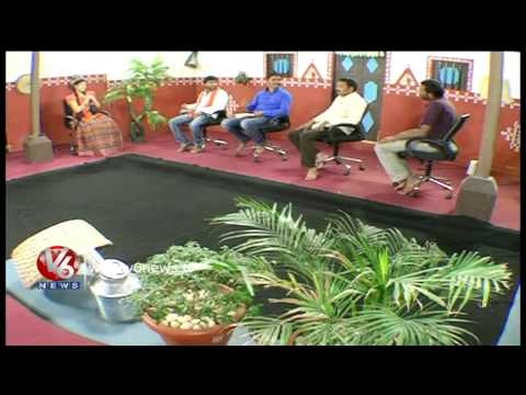 Singers Performing Telangana Folk Songs - Teenmaar Dhoom Dham 29th Dec 2013 Part2 video
