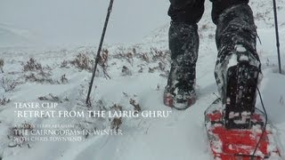 """Retreat from the Lairig Ghru"" from The Cairngorms in Winter with Chris Townsend"