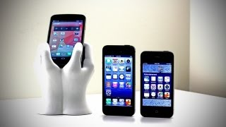 iPhone 5 Comparison (iPhone 5 vs iPhone 4 vs Galaxy Nexus)