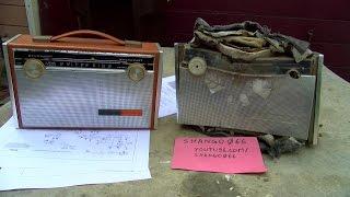 1963 Sears Silvertone AM Transistor Radio Ressurection