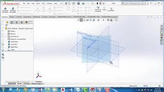 Hướng dẫn SolidWorks 2018 - Bài 2 - Thao tác với vùng, cửa sổ làm việc, đối tượng