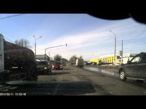 Авария на посту ГАИ Жуковский