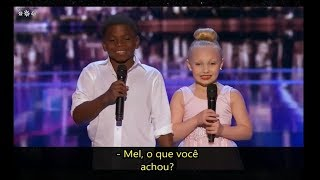 Artyon and Paige (LEGENDADO PT-BR) Judge Cuts Americas Got Talent