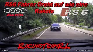 Der Audi RS6 Limousine Fahrer dreht auf wie eine Rakete 🚀