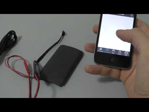 Скрытая камера BX900Z IP WIFI настройка iOS