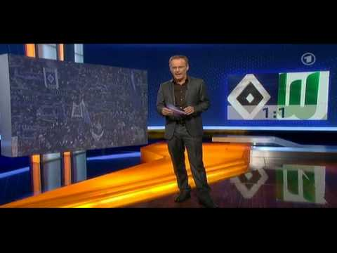 Edin Dzeko psuje (swears) na (on) ARD Sportschau