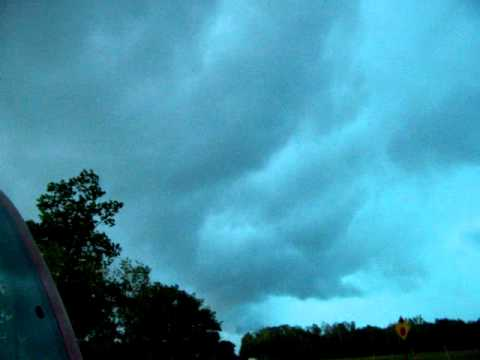 Severe Thunderstorm near Danbury, WI Aug 13th 2010 4