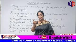Sentence Arrangement | Basic English Grammar | Tips & Tricks | For SSC CGL/Bank PO in Hindi | Part-1