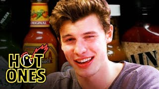 Download Lagu Shawn Mendes Reveals a New Side of Himself While Eating Spicy Wings   Hot Ones Gratis STAFABAND