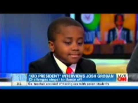 Kid President on CNN