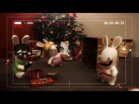 Les Lapins Crétins vous souhaitent un Joyeux Noël !