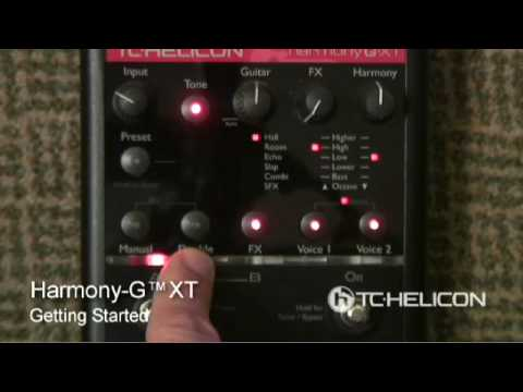 TC Helicon Voicetone Harmony-G XT: Tutorial 2 | UniqueSquared.com