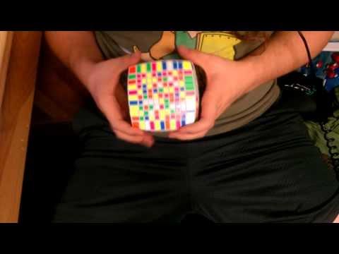 11x11 Rubik's Cube Solve 30:28 (full)
