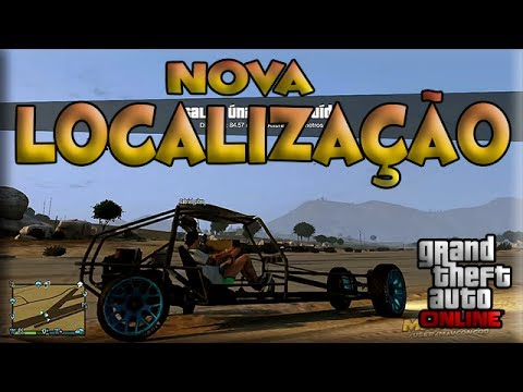 GTA V Online Veiculos Raros - Nova Localização do Dune Buggy Modificado.   GTA 5 Carros Raros