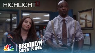 Terry & Gina Deliver Bad News To Captain Holt | Season 5 Ep. 18 | BROOKLYN NINE-NINE