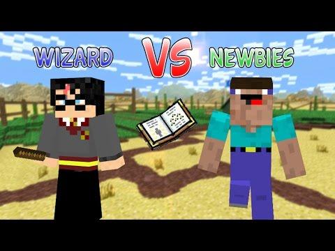 Pixel Gun 3D Harry Potter VS Newbies
