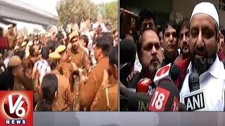 AAP MLA Amanatullah Khan Surrenders In Jamia Nagar Police Station