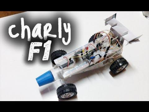Charly F1: Auto a control remoto bluetooth con Arduino. Avr y VBasic