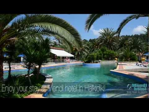 Halkidiki beach hotel Mendi with Swimming Pool