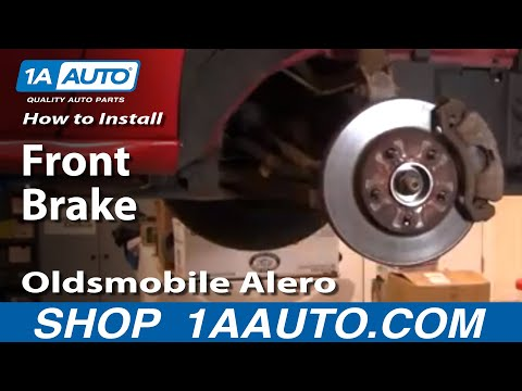 How To Install Replace Front Brakes Oldsmobile Alero 99-04 1AAuto.com