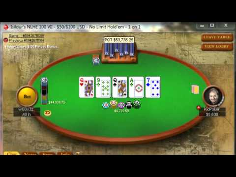 Jungleman vs Daniel Negreanu (no spoiler version in description)