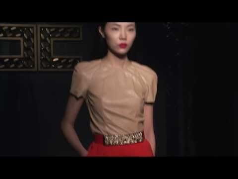 ELISABETTA FRANCHI Autumn-Winter 2014/2015 Fashion Show