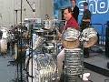 Alden Merrill Drum Solo @ 2008 NAMM Show