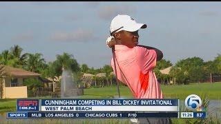 Cunningham shines at Bill Dickey Invitational