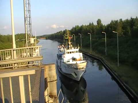 M/S Carelia on Saimaa canal in Finland (part 1)
