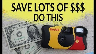 How to remove film from disposable camera | Thirty Five Thursdays