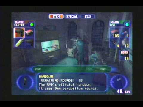 Resident Evil Outbreak File#1- Playstation 2-Parte 26