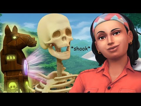 JUNGLE ADVENTURE GAMEPLAY - The Sims 4   Trailer Reaction