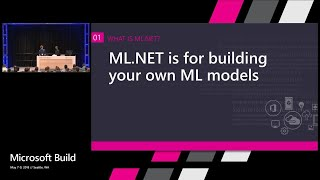 Introducing ML.NET : Build 2018