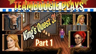 Kings Quest 3 | AGD Remake | Part 1 | Go To Bed Old Man!