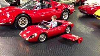 Porsche 904 Carrera GTS electric kid car test drive