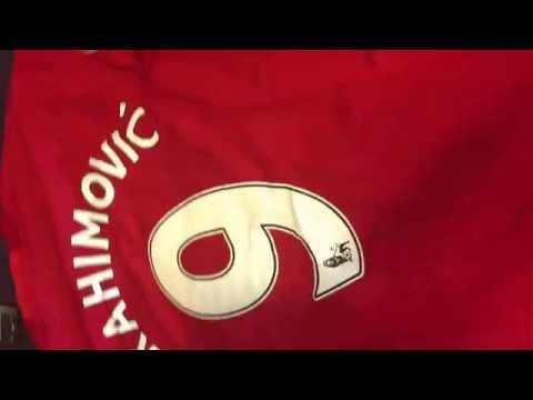 Gogoalshop.com Manchester United 16-17 Home jersey (Player Version) #9Ibrahimovic