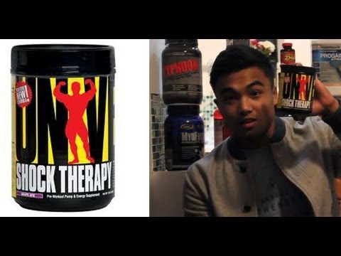 Supplement review : Universal Nutrition Shock Therapy pre workout