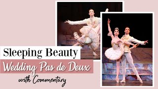 Sleeping Beauty Wedding Pas de Deux with Commentary | Kathryn Morgan