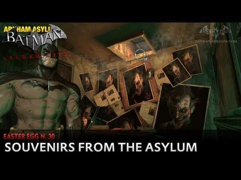 Batman: Arkham City - Easter Egg #30 - Souvenirs from the Asylum