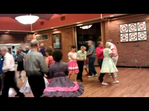 Square Dance in Denver, Colorado with Tom Roper square dance caller