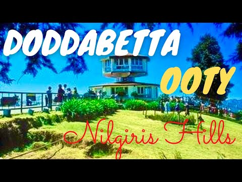 Ooty Doddabetta Highest Mountain In Nilgiri Hills India - Part I *hd* video