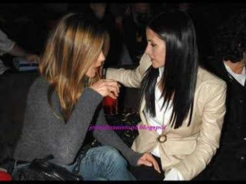 Jennifer and Courteney- Amazing Friendship