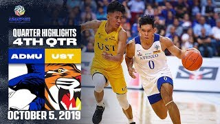 ADMU vs. UST - October 5, 2019  | 4th Quarter Highlights | UAAP 82 MB