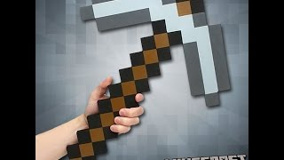 How to make Minecraft pickaxe from magnets (Buckyballs, NeoCube, Zen Magnets)