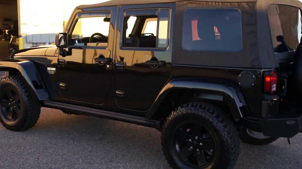 Salvage Jeep Wrangler Unlimited 2012 Jeep Wrangler Unlimited Call of Duty MW3 For Sale ...