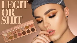 LAURA LEE NUDIE PATOOTIE EYESHADOW PALETTE | Review/Makeup Tutorial | Legit or Shit?