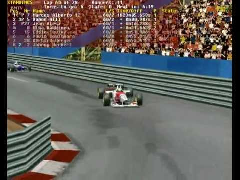 Access my blog. Click here: http://www.omaravlis.blogspot.com.br This is my amateur video clip Formula 1 1995 Round 04 Monaco Grand Prix 3 SGP046.
