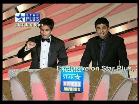 Shahid Kapoor at the 16th annual starscreen awards 2010