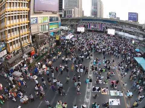 Bangkok Protests 2014 – Asok & Ratchaprasong January 14th – 16th – 10