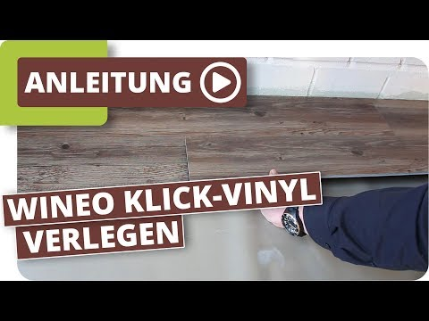 Wineo Laguna Klick-Vinyl Designbelag Einfach Selber Verlegen